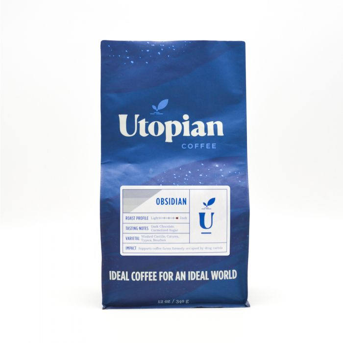 Obsidian Signature Blend Dark Roast Coffee